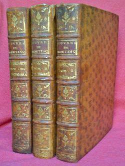 Oeuvres [.], nouvelle édition revue, corrigée et: Montesquieu Charles De