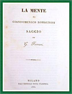 La mente di Giandomenico Romagnosi.