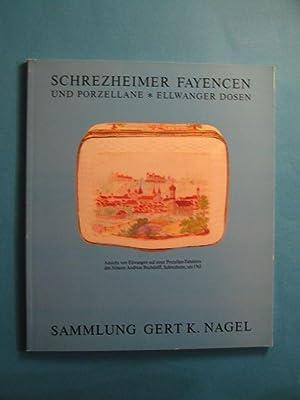 Schrezheimer Fayencen und Porzellane. Sammlung Gert K.