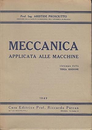 Meccanica applicata alle macchine - Prof. Ing.