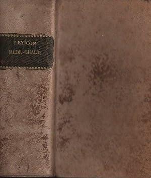 Lexicon hebraicum et chaldaicum. Johannis Buxtorfi. Basileae.