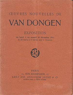 Ouvres Nouvelles de Van Dongen Exposition: Van Dongen