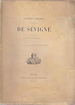 Lettres choisies de Madame De Sevigne avec: Madame De Sevigne