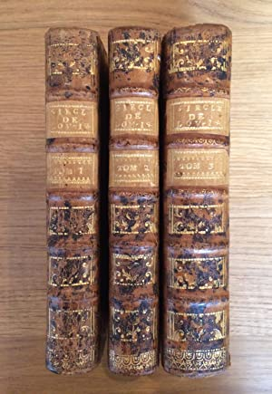 Le siècle de Louis XIV. Nouvelle édition,: VOLTAIRE- [M. de