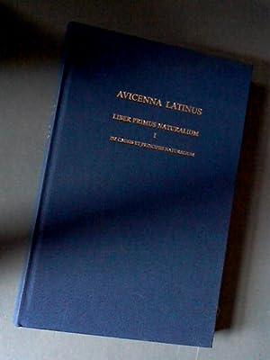 Avicenna Latinus - Liber primus naturalium -: Riet, S. van