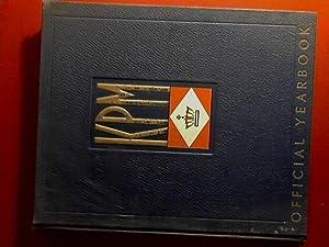 KPM official yearbook 1937 - 1938: Koninklijke Paketvaart Maatschappij