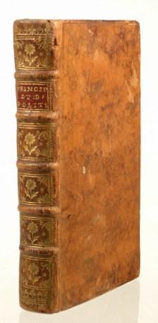 Principes du Droit Politique. Two Volumes in One. 12mo: Burlamaqui Jean Jacques]