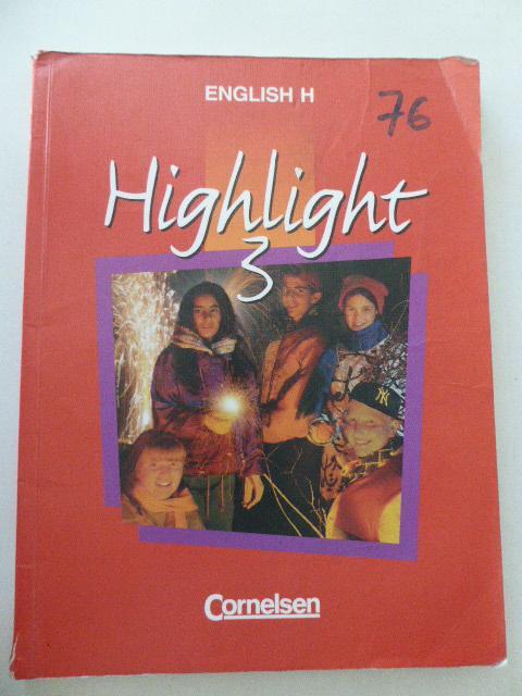 Highlight 3. English H. Softcover - Roderick Cox, Raymond Williams