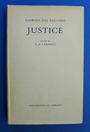 Justice: An Historical and Philosophical Essay