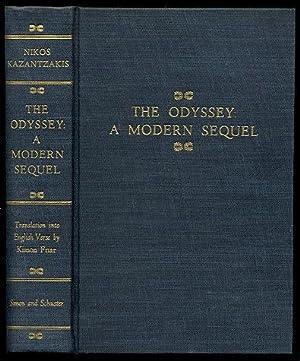 The Odyssey: A Modern Sequel: Kazantzakis, Nikos; Translated