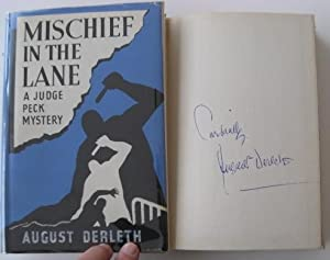 Mischief in the Lane (signed by Derleth)