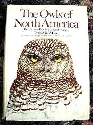 THE OWLS OF NORTH AMERICA: Eckert, Allan W.