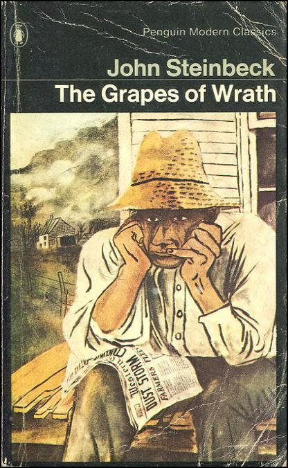 a view on the novel the grapes of wrath by john steinbeck Steinbeck's novel actually made a large segment of the population more aware of  the  discover they don't necessarily resemble movie actors jane darwell or  john  chapter two of the grapes of wrath introduces readers to tom joad, who  like  benson suggests that both collins and steinbeck had an idealized view.