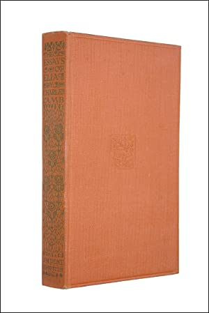essays of elia by charles lamb abebooks essays of elia charles lamb