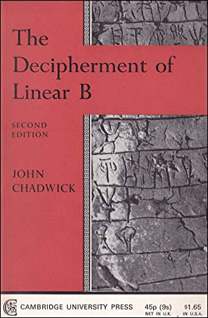 an analysis of the discovery and decipherment of linear b as important to our understanding of the b