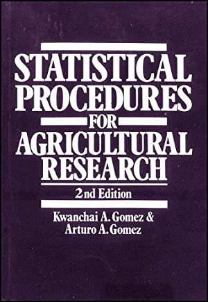 Statistical Procedures for Agricultural Research: Gomez, Kwanchai A.;