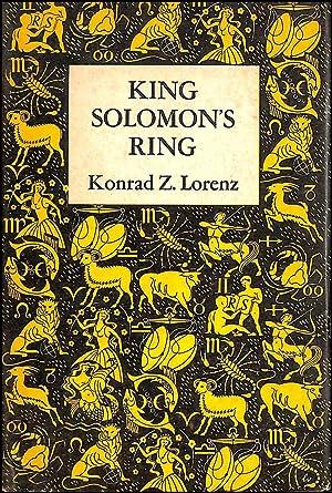 King Solomon's Ring: Konrad Z. Lorenz