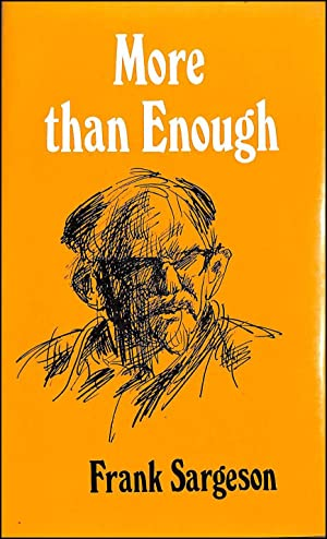 More Than Enough: A Memoir: Sargeson, Frank
