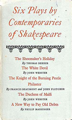 Six Plays by Contemporaries of Shakespeare: Wheeler, C B