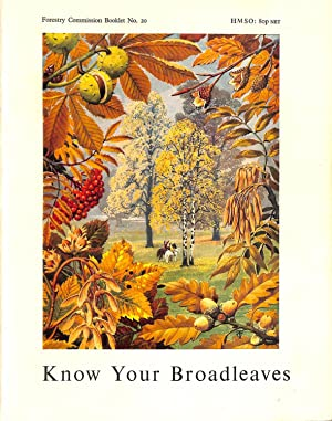 Know Your Broadleaves (Booklet): Great Britain: Forestry