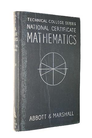 National Certificate Mathematics : Volume II (Second: Abbott, P. ;