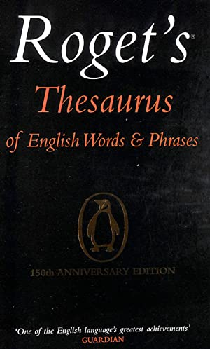 Roget's Thesaurus of English Words and Phrases: Davidson, George; Davidson,
