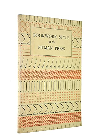 Bookwork Style at the Pitman Press