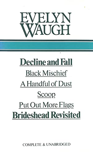 Selected Works - Decline and Fall, Black: Waugh, Evelyn