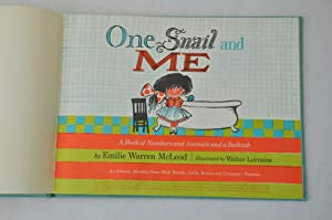 One Snail and Me: A Book of: McLeod, Emilie Warren