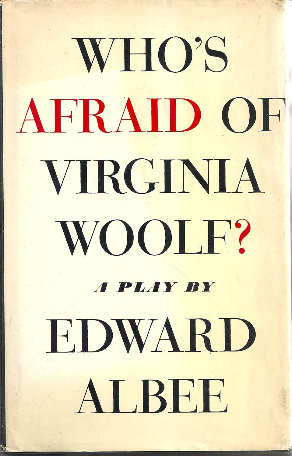 Image result for edward albee's who's afraid of virginia woolf logo