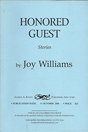 Honored Guest: Joy Williams