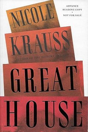 Great House: Nicole Krauss