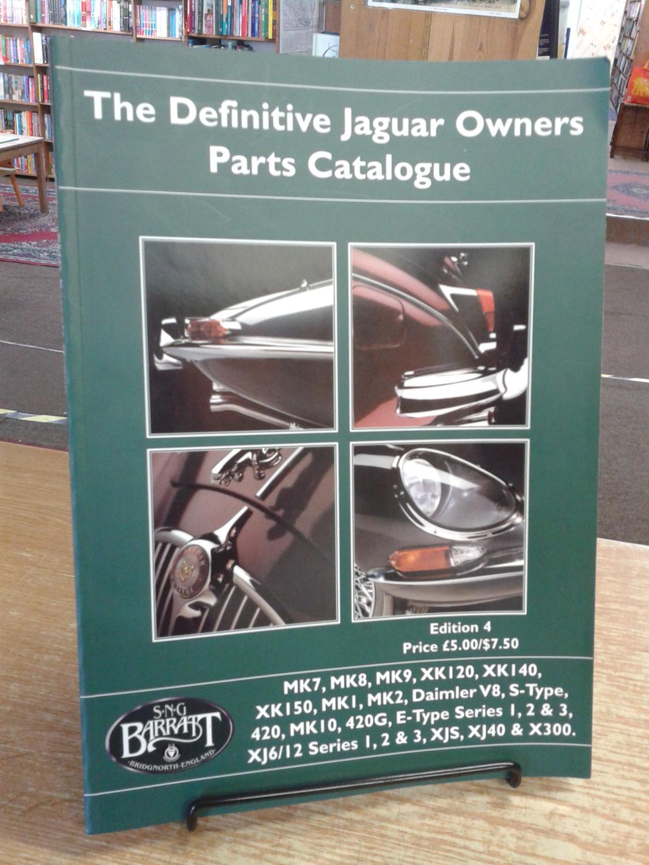 The Definitive Jaguar Owners Parts Catalogue