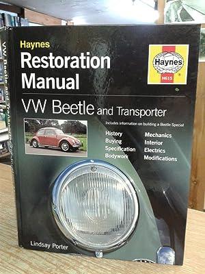 VW Beetle and Transporter Restoration Manual (Haynes: Lindsay Porter