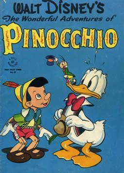 Walt Disney's The Wonderful Adventures of Pinocchio - Four Color Comic #92: DISNEY, Walt