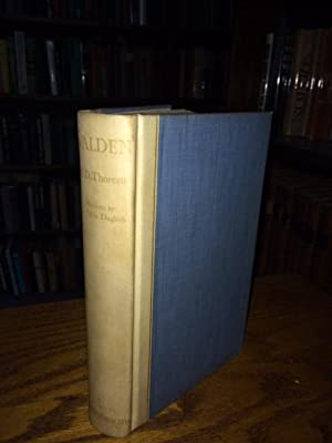 Walden or Life in the Woods (Signed,: THOREAU, Henry David