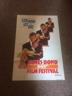 Live and Let Die - (James Bond 007 Film Festival) -Original Movie Poster - 27