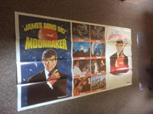 Moonraker Original Movie Poster - 40