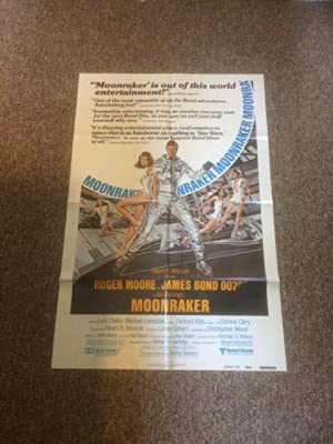 Moonraker - Original Movie Poster (w/Reviews) - 27