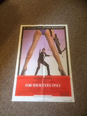 For Your Eyes Only - Original Movie Poster - 27