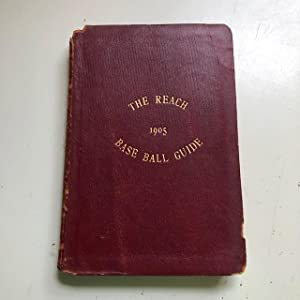 Reach's Official American League Baseball Guide for 1905