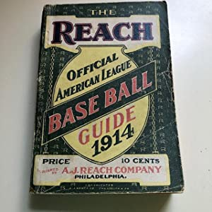 The Reach Official American League Baseball Guide for 1914