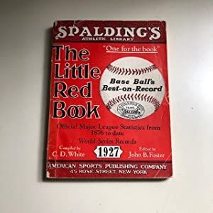 The Little Red Book (of Baseball) - 1927