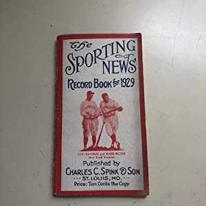The Sporting New Record Book for 1929