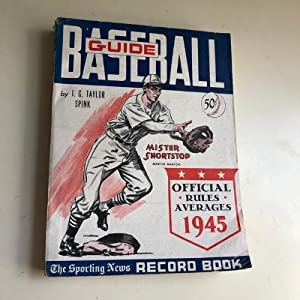 Baseball Guide and Record Book - 1945