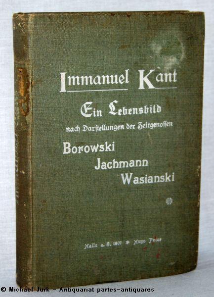 Immanuel Kant. - Ein Lebensbild nach Darstellungen: Schwarz, Hermann: