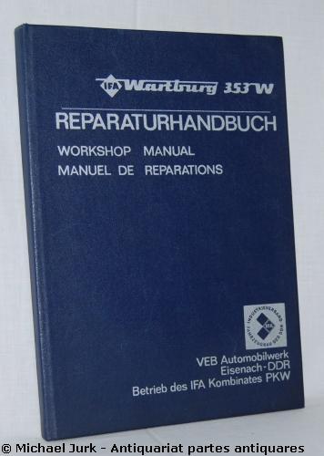 wartburg 353 reparaturhandbuch zvab. Black Bedroom Furniture Sets. Home Design Ideas