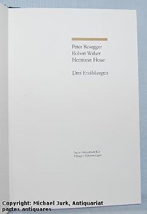 Hermann Hesse Weihnachten.Peter Rosegger Robert Walser Hermann