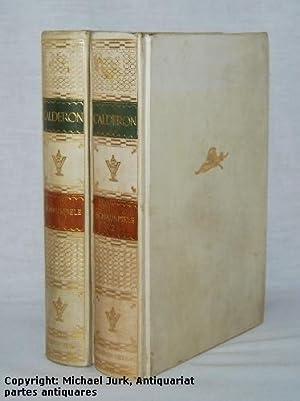 Schauspiele 1 und 2. (Zwei Bände, kpl.): Calderón (de la