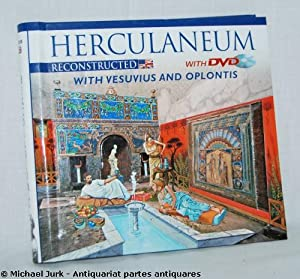 HERCULANEUM reconstructed - with Vesuvius and Oplontis.